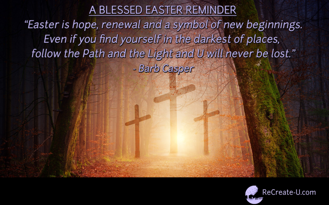 A Blessed Easter, A Fresh Start